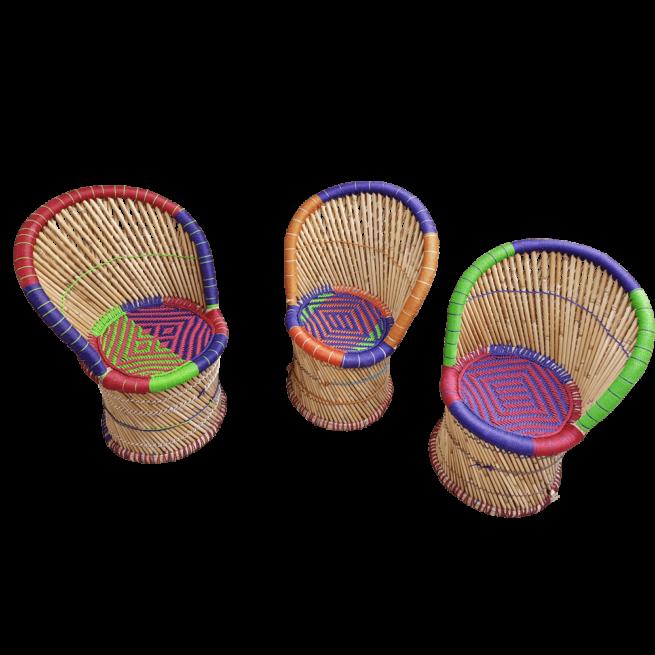 Bamboe Kinderstoel