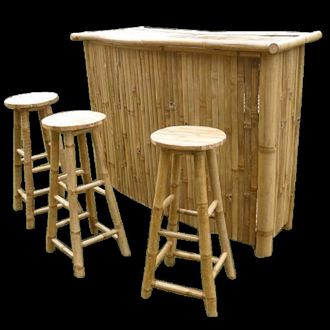Bamboe Halfmoon Bar Demo